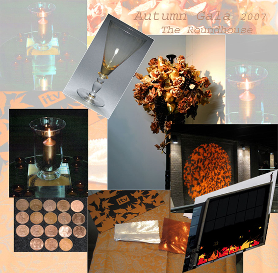 Mood Board Autumn Gala 2007