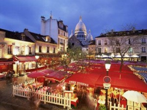 paris wedding recption